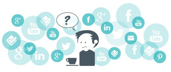 visual overwelming social media