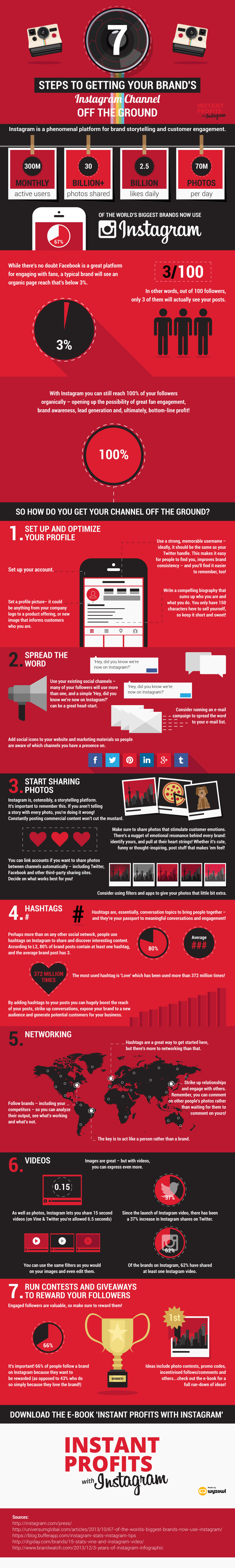 7 Steps Infographic
